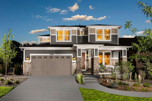 Meritage homes at Inspiration