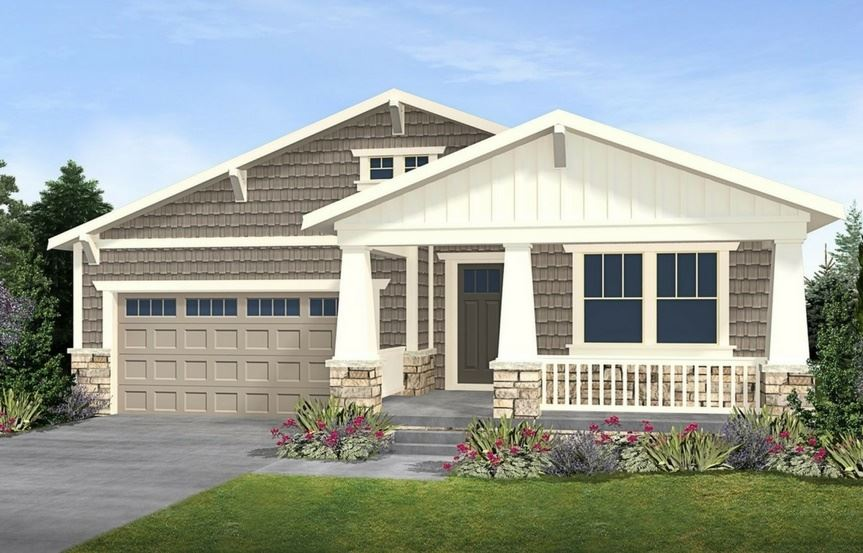 Residence 4A03, a Beautiful Colorado Model New Home by CalAtlantic