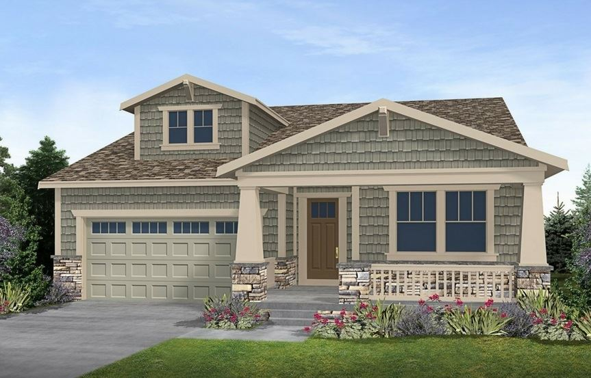 Residence 4A05, a Beautiful Colorado Model New Home by CalAtlantic