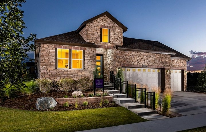 Residence 4A06, a Beautiful Colorado Model New Home by CalAtlantic