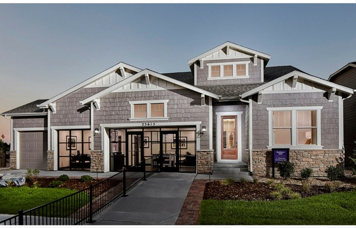 Residence 5A01, a Beautiful Colorado Model New Home by CalAtlantic