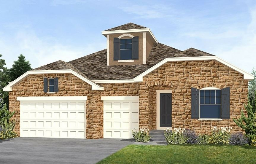 Residence 5A02, a Beautiful Colorado Model New Home by CalAtlantic
