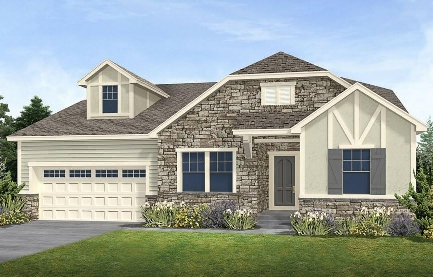 Residence 5A03, a Beautiful Colorado Model New Home by CalAtlantic