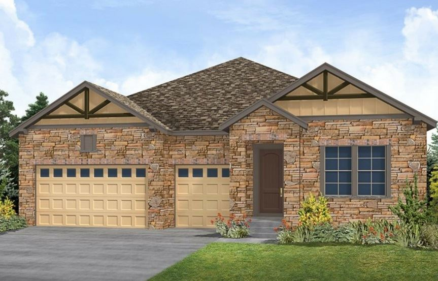Residence 5A04, a Beautiful Colorado Model New Home by CalAtlantic