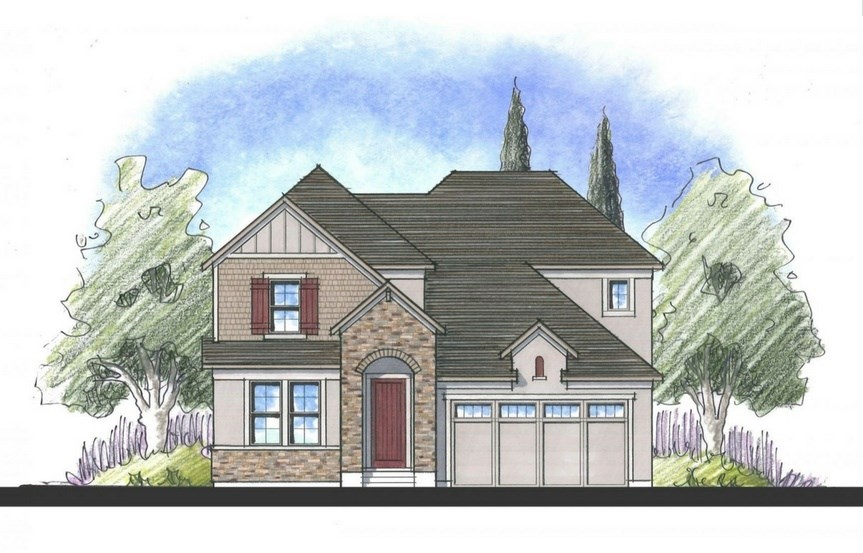 Willow, a Beautiful Colorado Model New Home by Dream Finders