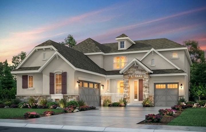 Prescott, a Beautiful Colorado Model New Home by Lennar