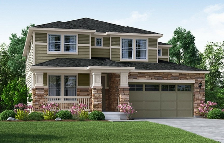 Apex, a Beautiful Colorado Model New Home by Meritage Homes