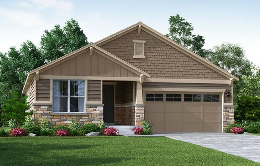Timberline, a Beautiful Colorado Model New Home by Meritage Homes