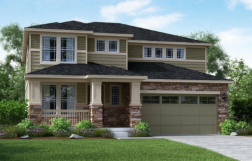 Glacier, a Beautiful Colorado Model New Home by Meritage Homes