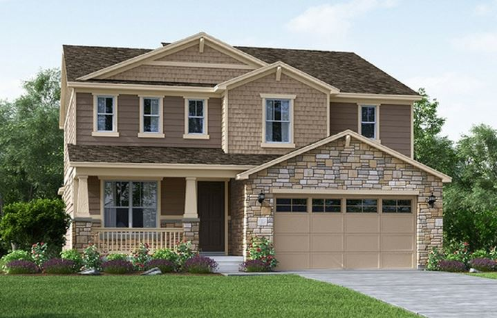 Ridgeline, a Beautiful Colorado Model New Home by Meritage Homes