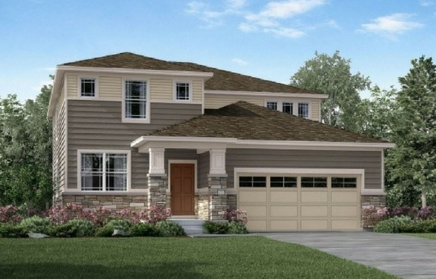 Clear Creek, a Beautiful Colorado Model New Home by Meritage Homes