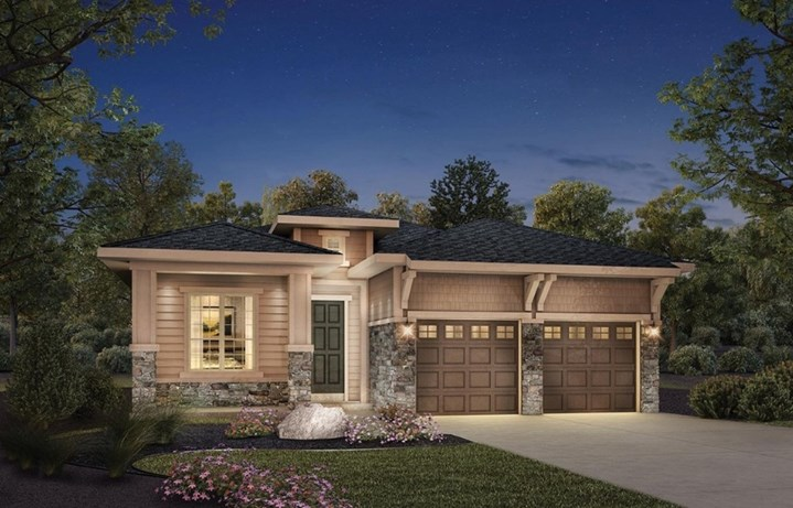 Fairplay, a Beautiful Colorado Model New Home by Toll Brothers (55+)