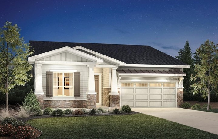 Wakefield, a Beautiful Colorado Model New Home by Toll Brothers (55+)