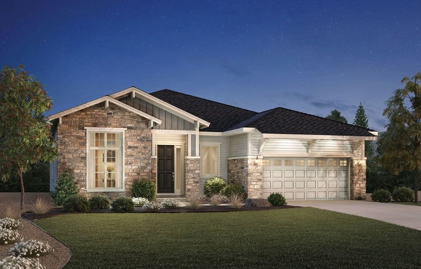 Bancroft, a Beautiful Colorado Model New Home by Toll Brothers (55+)