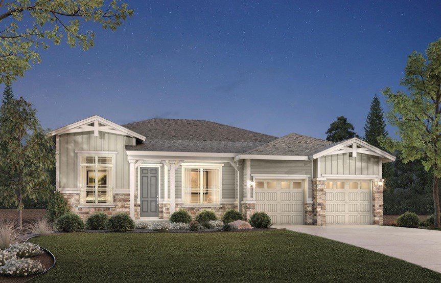 Trelease, a Beautiful Colorado Model New Home by Toll Brothers (55+)