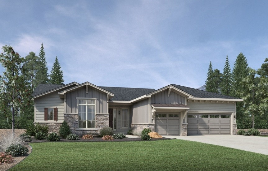 Antero, a Beautiful Colorado Model New Home by Toll Brothers (55+)