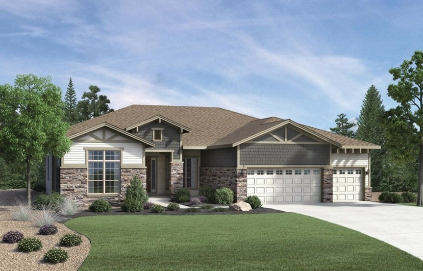 Venable, a Beautiful Colorado Model New Home by Toll Brothers (55+)
