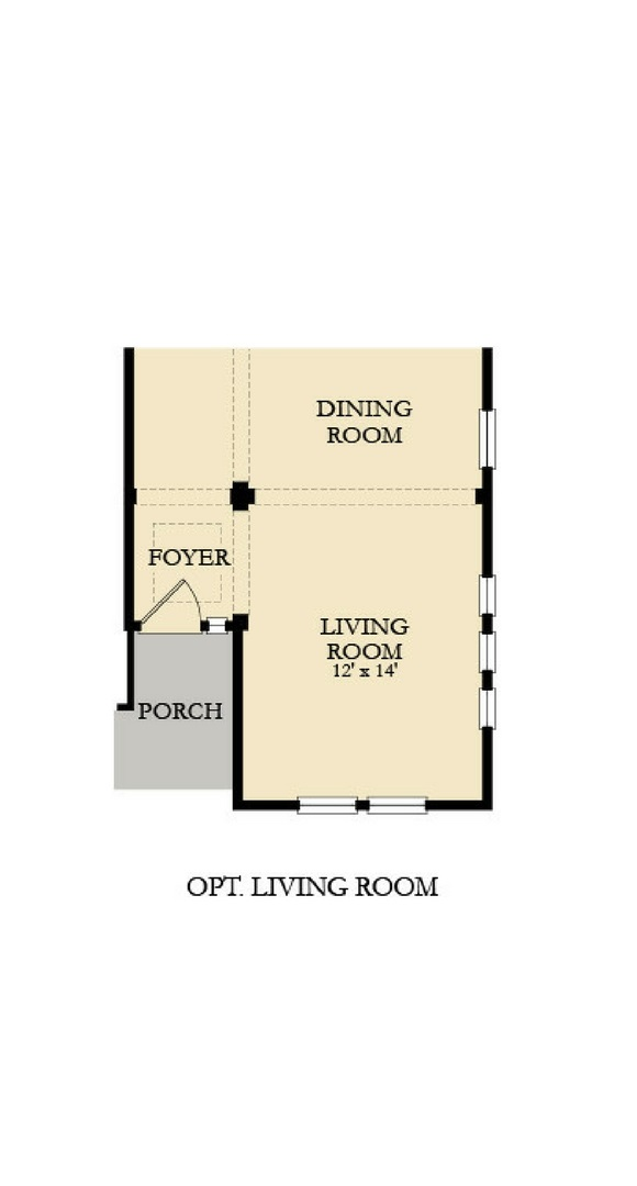 Peyton main floor unfurnished options, a Beautiful Colorado Model New Home by Lennar