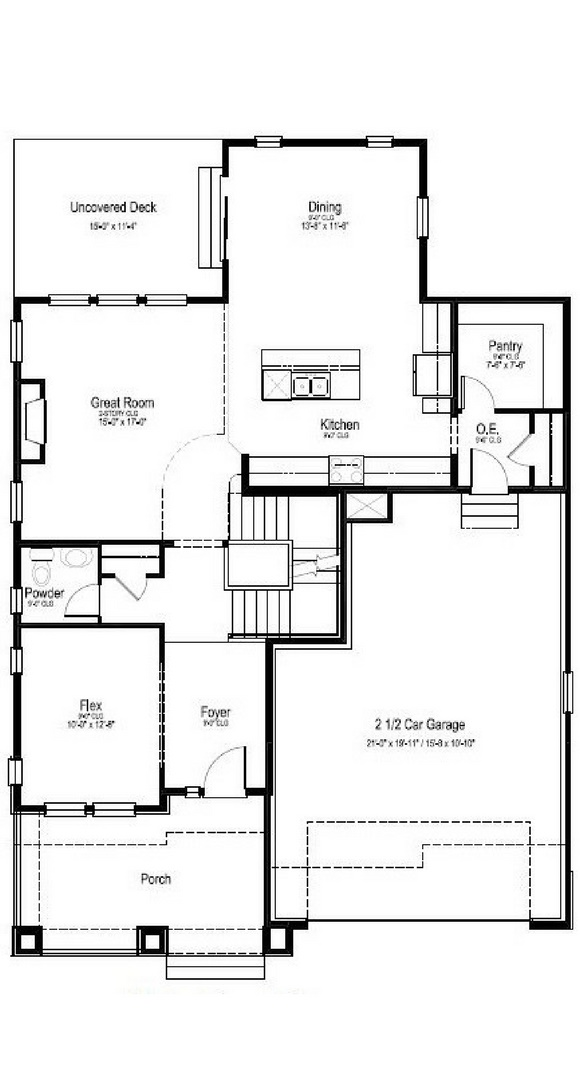 Madison main level, a Beautiful Colorado Model New Home by Dream Finders