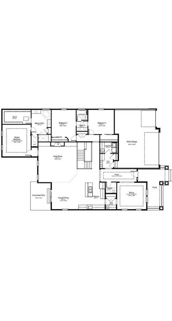 Birch main level, a Beautiful Colorado Model New Home by Dream Finders