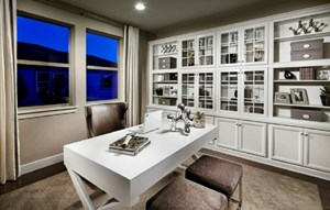 Study of a New Home by CalAtlantic Homes in Parker Colorado area