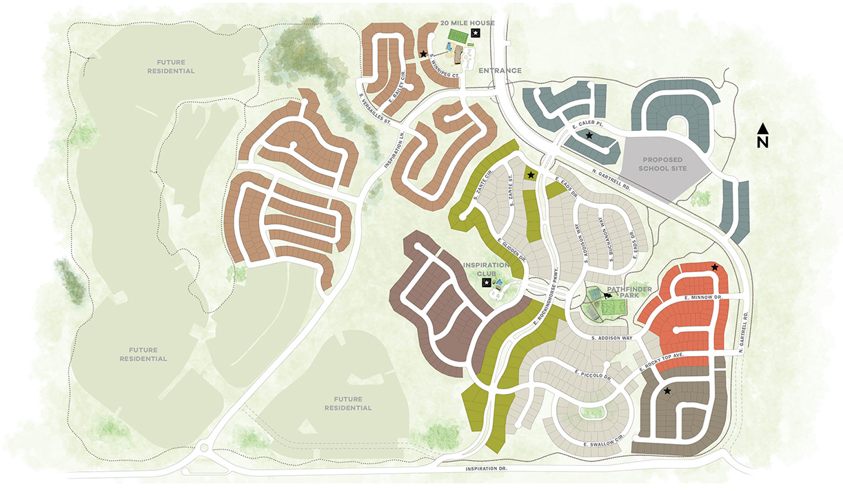Denver New Home Community Map