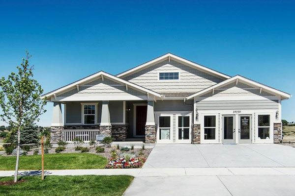 New Model Home by Dream Finders Homes in Parker Colorado Area