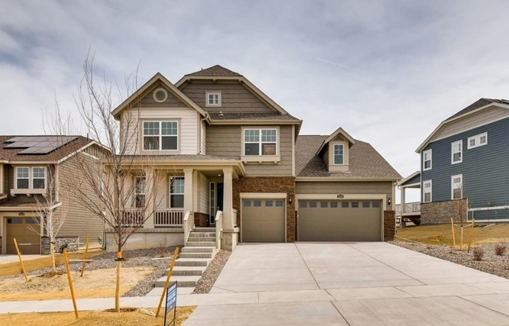 New home at 23159 E. Narrowleaf Dr. by Lennar