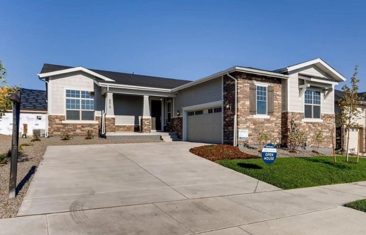 New home at 8619 S. Tibet by Toll Brothers (55+) in Inspiration