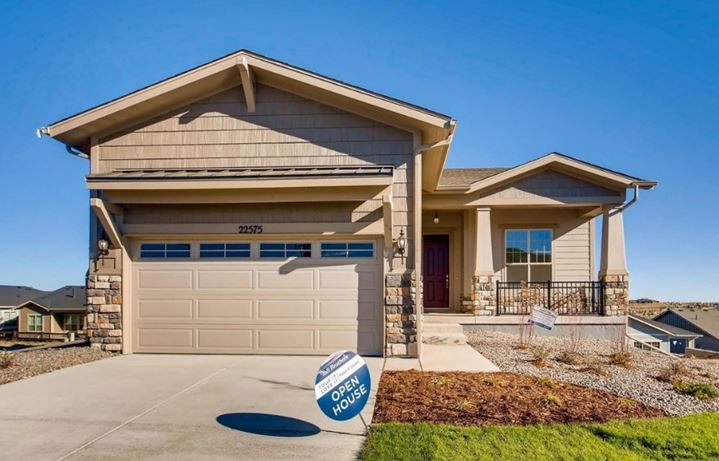 New home at 22575 E. Henderson by Toll Brothers (55+) in Inspiration