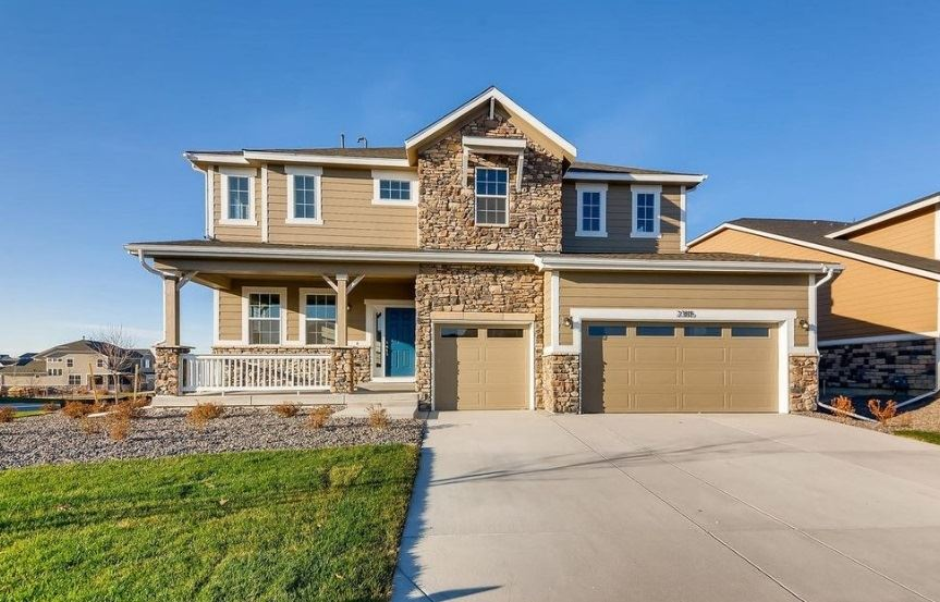 New Home at 23815 E. Rocky Top Pl by Dream Finders in Inspiration