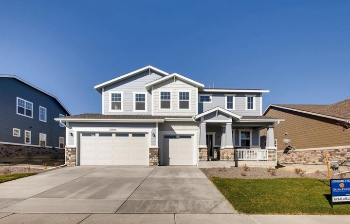 New Home at 23895 E. Rocky Top Pl by Dream Finders in Inspiration