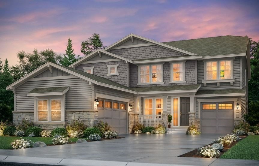 New home at 8847 S. Zante St by Lennar