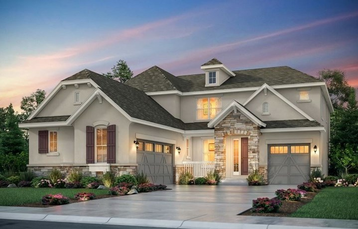New home at 8798 S. Zante St by Lennar