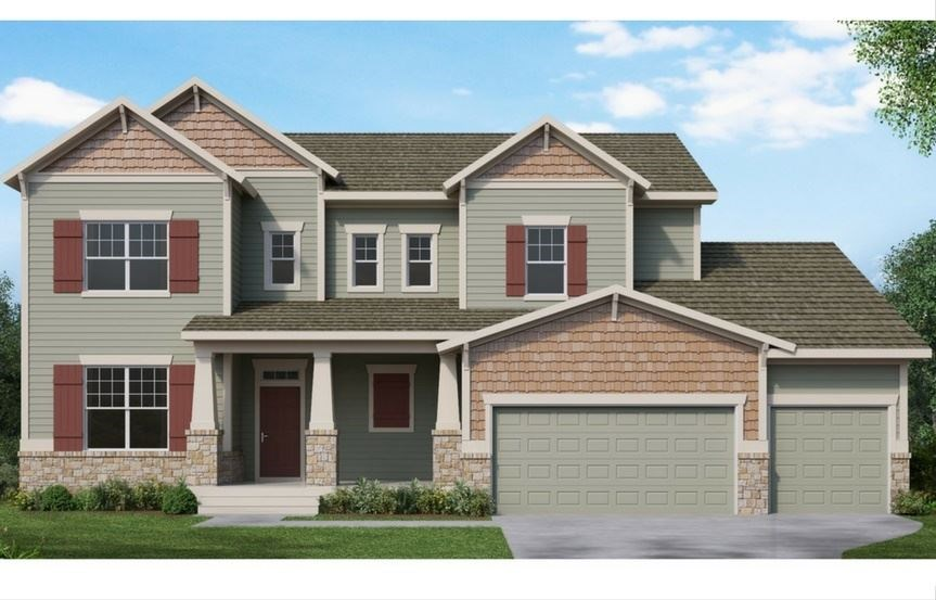 New home at 8605 S. Zante Ct by David Weekley