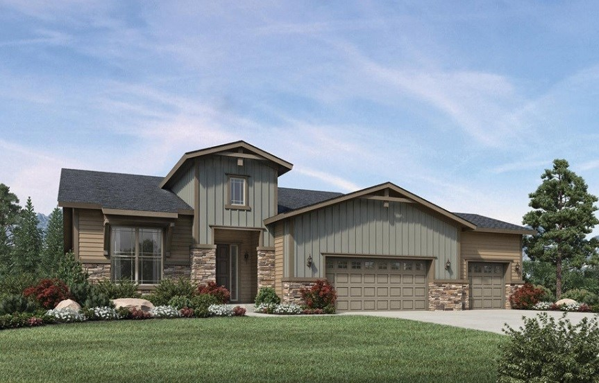 Durango, a Beautiful Colorado Model New Home by Toll Brothers (55+)