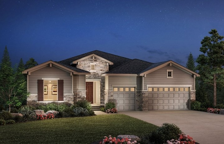Berkley, a Beautiful Colorado Model New Home by Toll Brothers (55+)