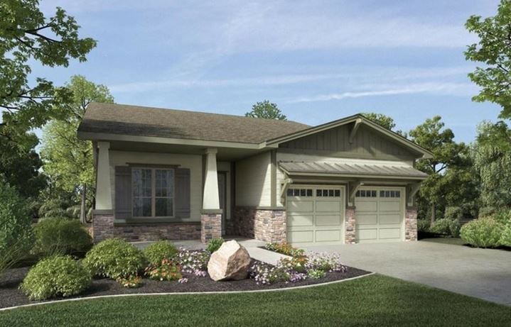 New home at 22585 E. Henderson Dr, Fairplay by Toll Brothers (55+)
