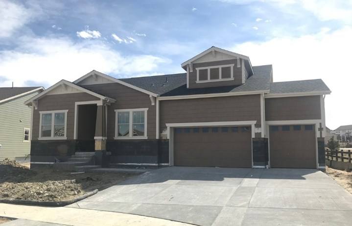 New home at 23556 E. Del Norte Pl by CalAtlantic | Inspiration Colorado
