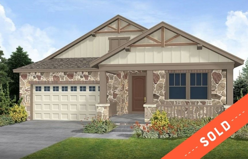 New home at 23695 E. Del Norte Pl by CalAtlantic | Inspiration Colorado