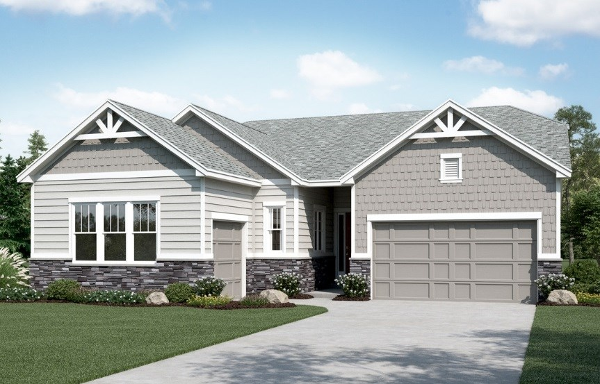 Daniel, a Beautiful Colorado New Home plan by Richmond American Homes