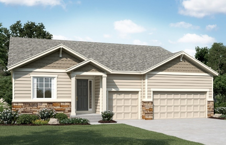 Dearborn, a Beautiful Colorado New Home plan by Richmond American Homes