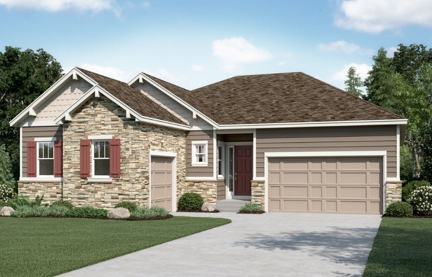 Delaney, a Beautiful Colorado New Home plan by Richmond American Homes