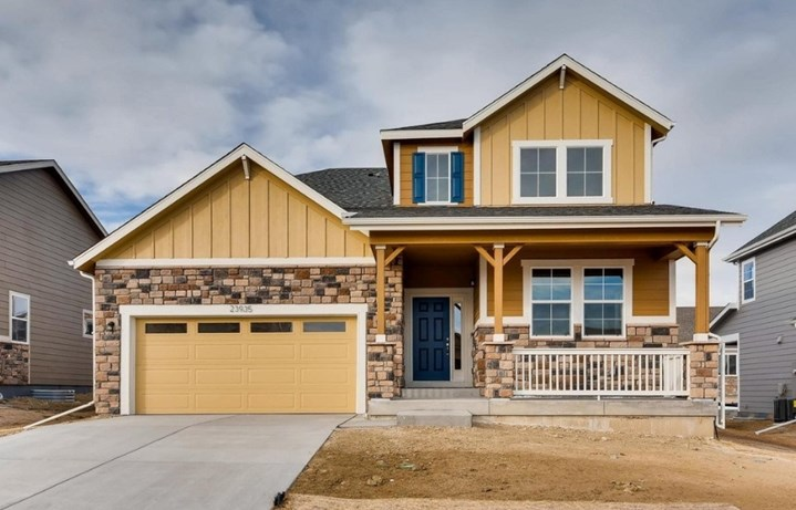 New home at 23935 E. Rocky Top Ave by Dream Finders | Inspiration Colorado