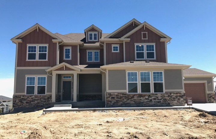 New home at 23210 E. Rockinghorse Pkwy by David Weekley | Inspiration Colorado