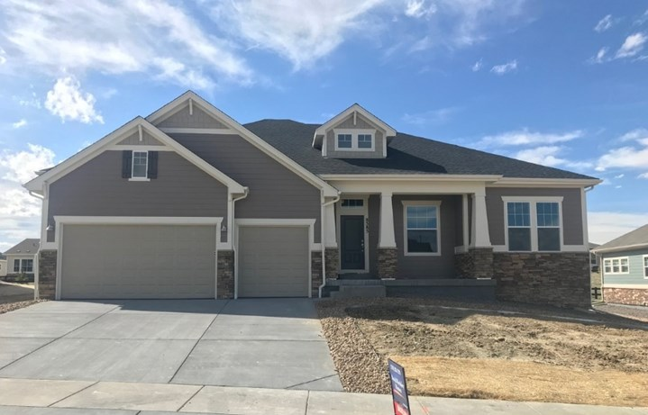 New home at 8585 S. Zante Ct by David Weekley | Inspiration Colorado