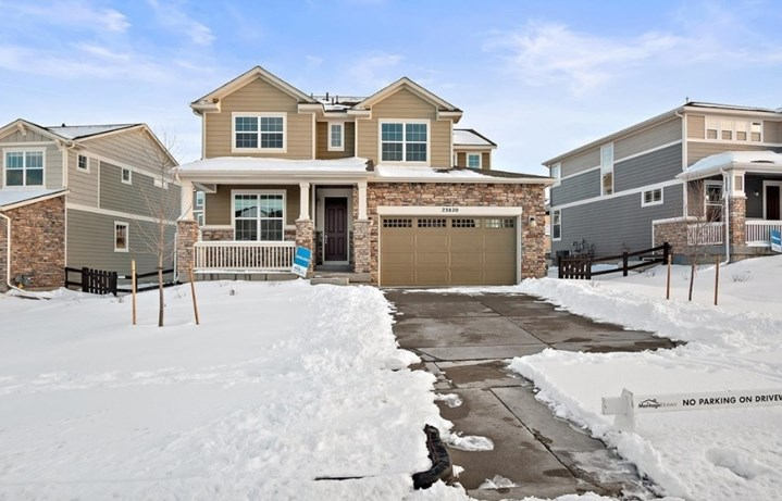 New home at 23820 E. Minnow Dr by Meritage | Inspiration Colorado