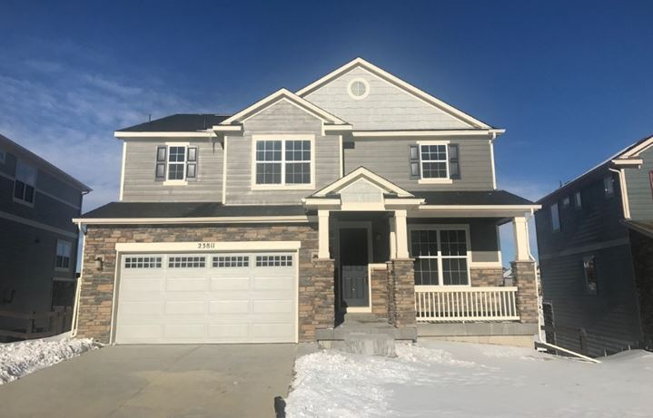 New home at 23811 E. Minnow Dr by Meritage | Inspiration Colorado