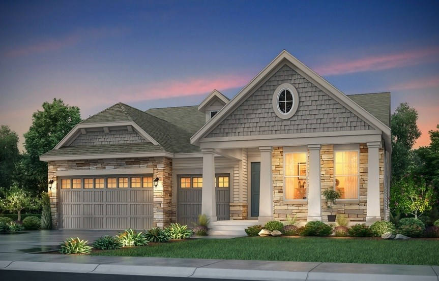 New home at 8845 S. Yakima Ct. by Lennar | Inspiration Colorado
