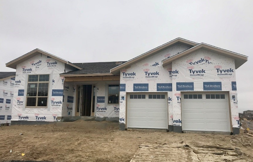 New home at 22703 E. Glidden Dr by Toll Brothers (55+) | Inspiration Colorado